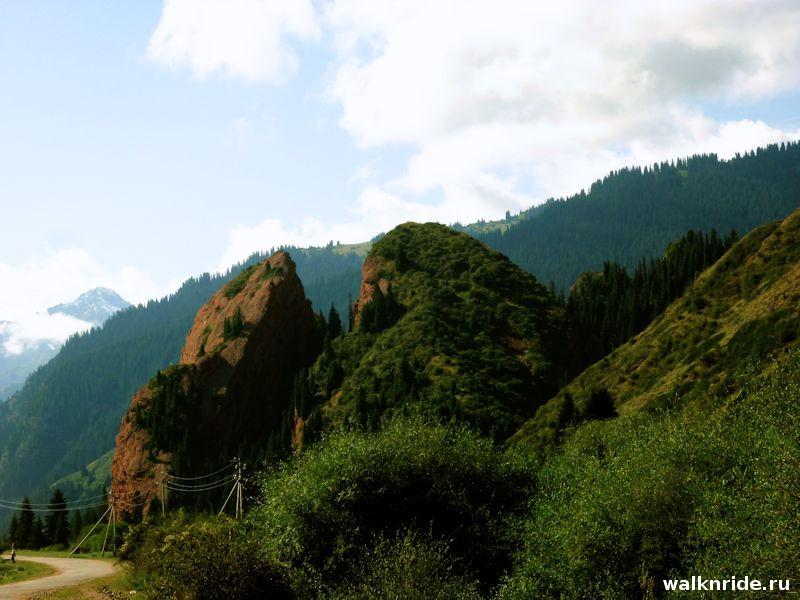 Ущелье Джети-Огуз, Киргизия, Иссык-Куль