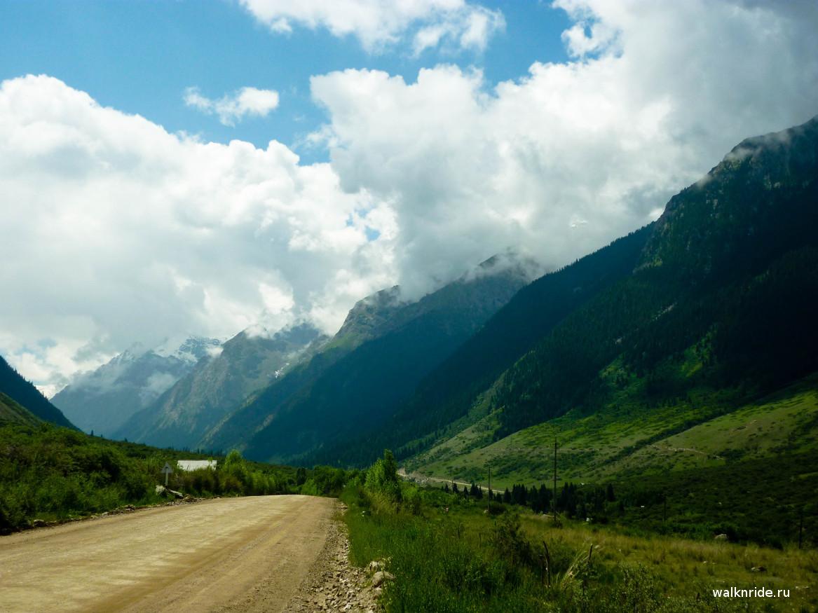 Ущелье Барскоон, Киргизия, Иссык-Куль
