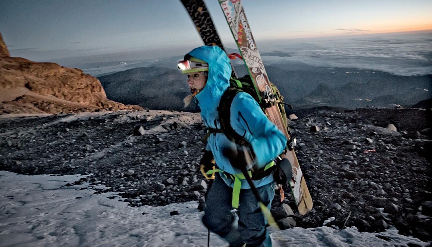 Глэйч на высоте 5000м