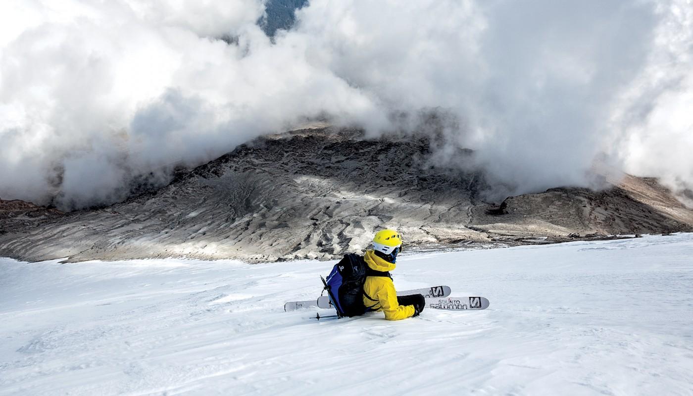 Вид на отступающий ледник. Фото: Grayson Schaffer